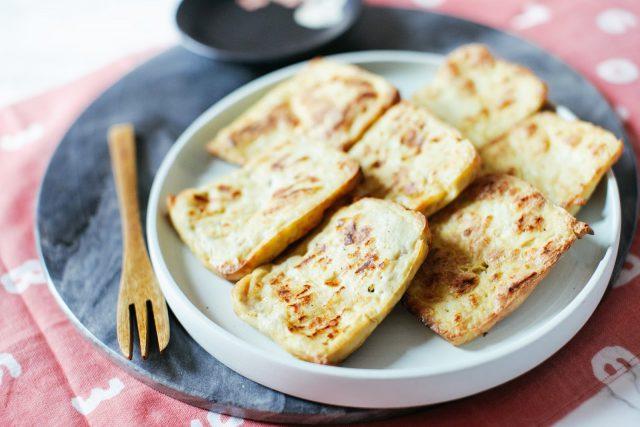 Super crispy teriyaki tofu