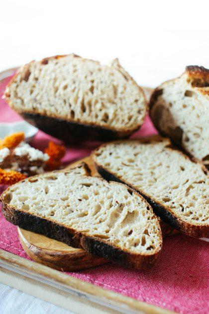 Spelt & Kamut Sourdough Slices