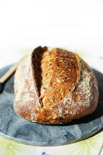 Crust of Spelt & Kamut Sourdough