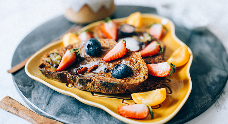 The Best Vegan French Toast Recipe The Floral Vegan