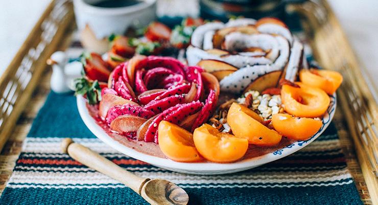 Soothing Papaya Acai Smoothie Bowl | Perfect For Summer!