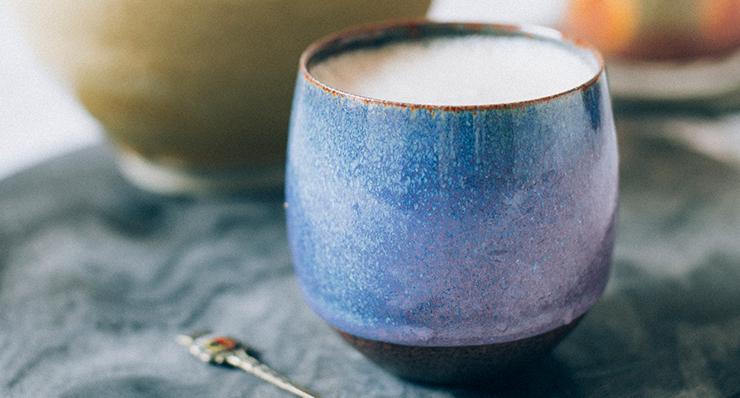 No Caf Herbal Mushroom Coffee Latte