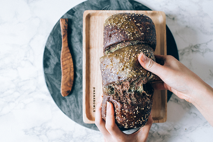 Chocolate Matcha Sourdough