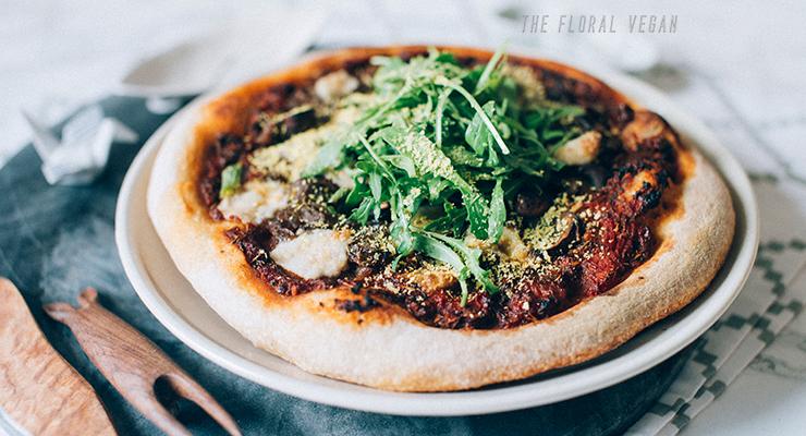 Sourdough Vegan Pizza