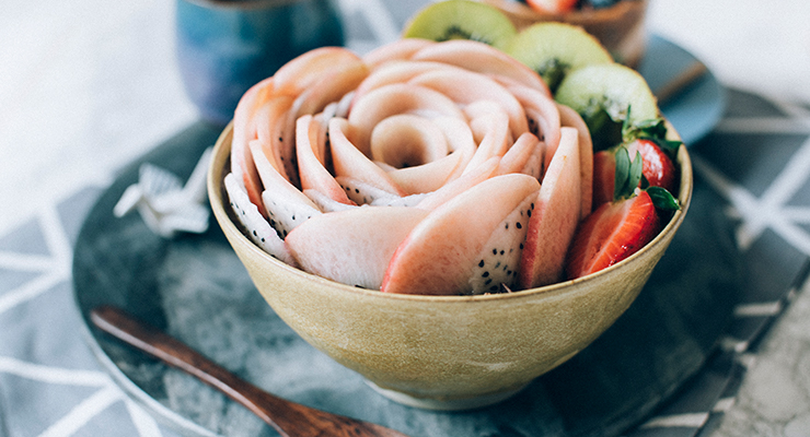 Herbal Mocha Vegan Ice Cream Bowl