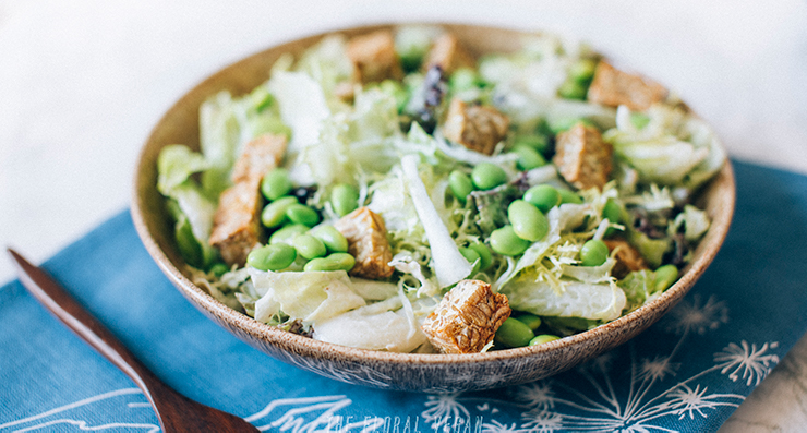 Vegan Caesar Dressing (Low fat & Oil-free)