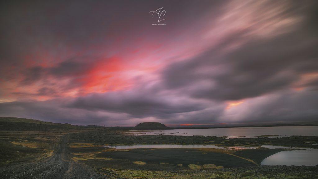 Iceland sunse