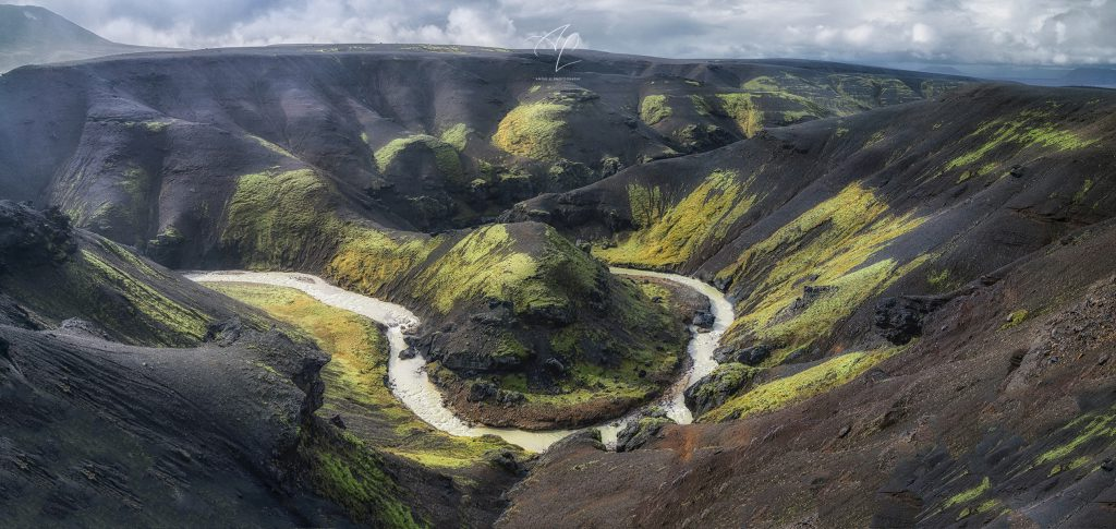 Ásgarðsá River in Kerlingarfjöll