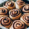 Sourdough pumpkin cinnamon rolls