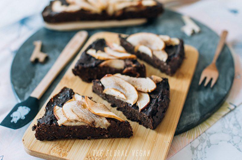 Vegan Protein Brownie (Gluten-free)