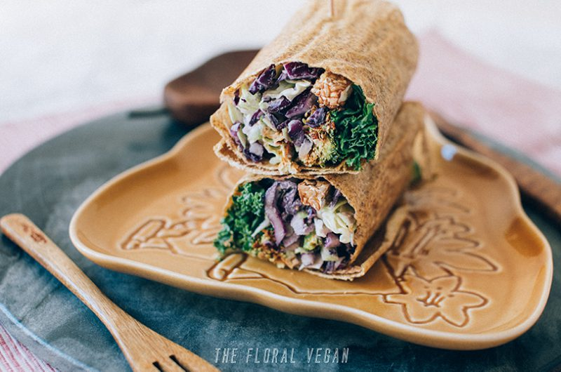 Raw Corn Tortilla Wrap (Vegan, Gluten-free)