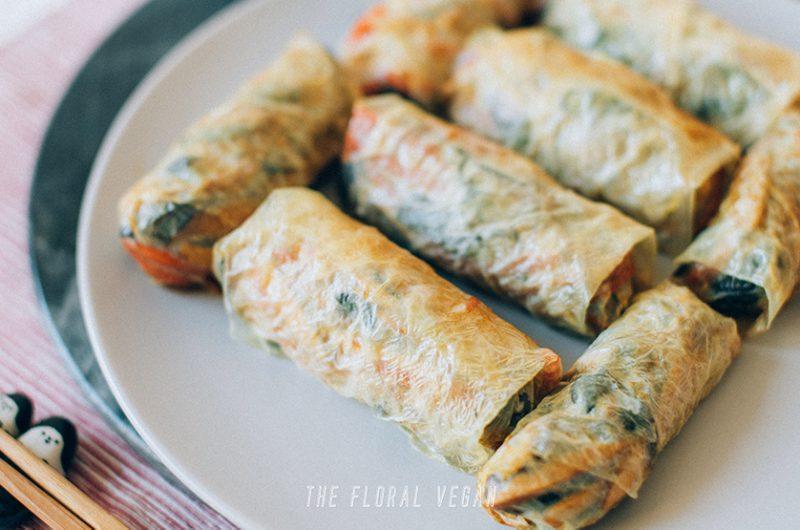 Chinese Tofu Rolls (Vegan, Gluten-free)