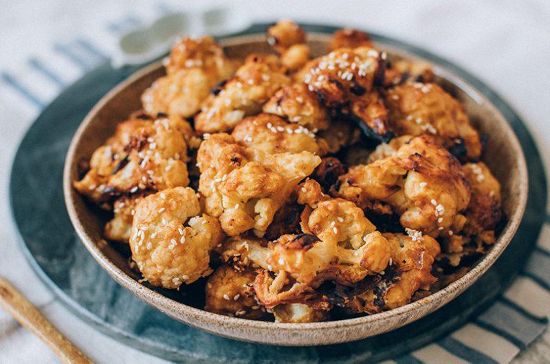 Kung Pao Cauliflower (Vegan, Gluten-free)