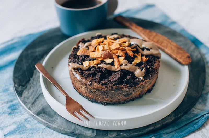 Vegan Cookie & Cream Cheesecake (Gluten-free)