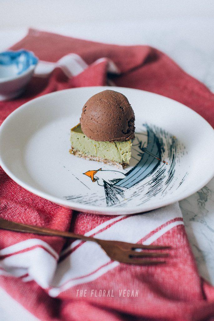 Vegan-Matcha-Cheesecake