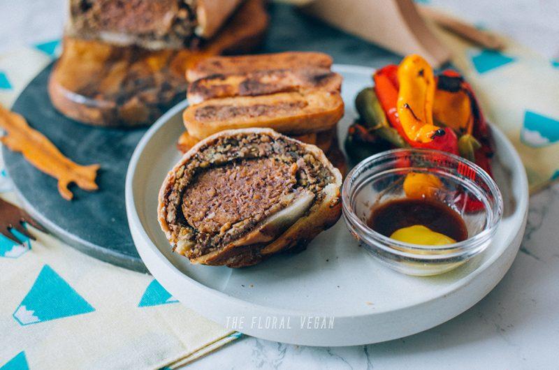 Vegan Beef Wellington (Gluten-free)