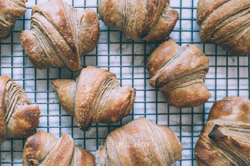 Vegan & Gluten-free Sourdough Croissant