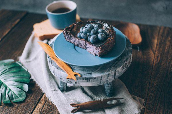 Vegan-basque-burnt-cheesecake