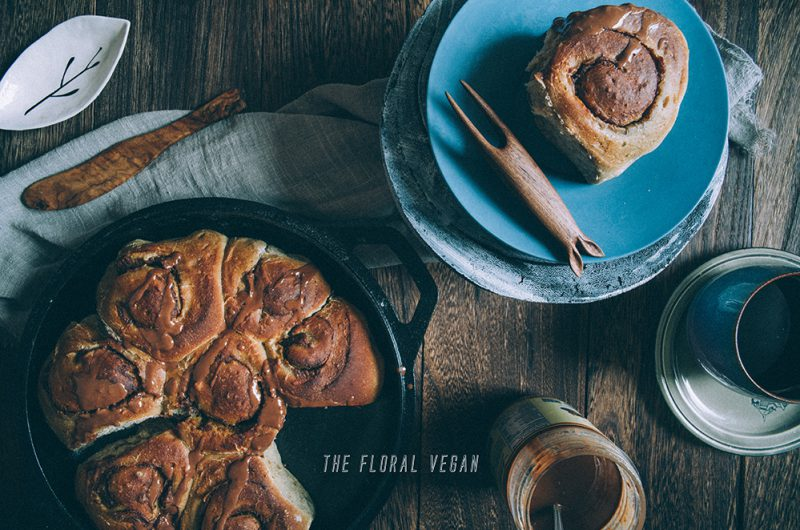 New & Improved - Vegan Sourdough Cinnamon Rolls