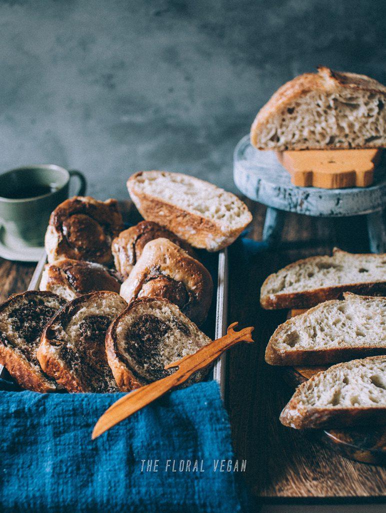 assorted sourdough bread
