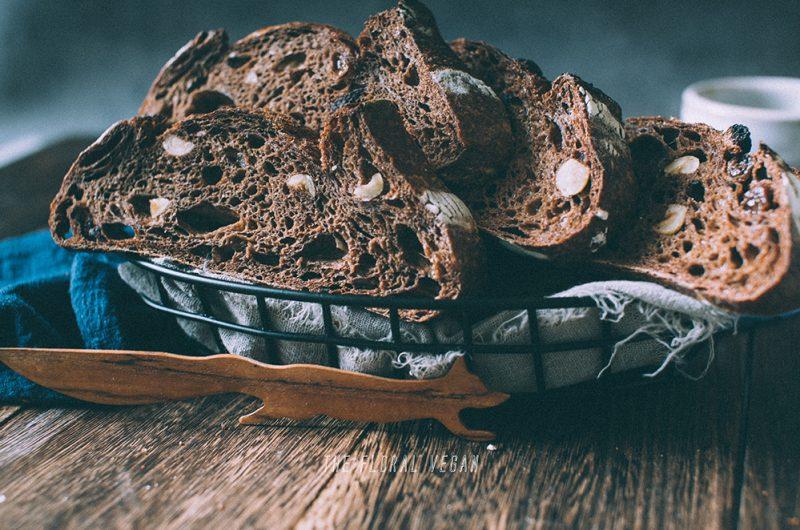 Double Chocolate Sourdough (aka Brownie Bread)