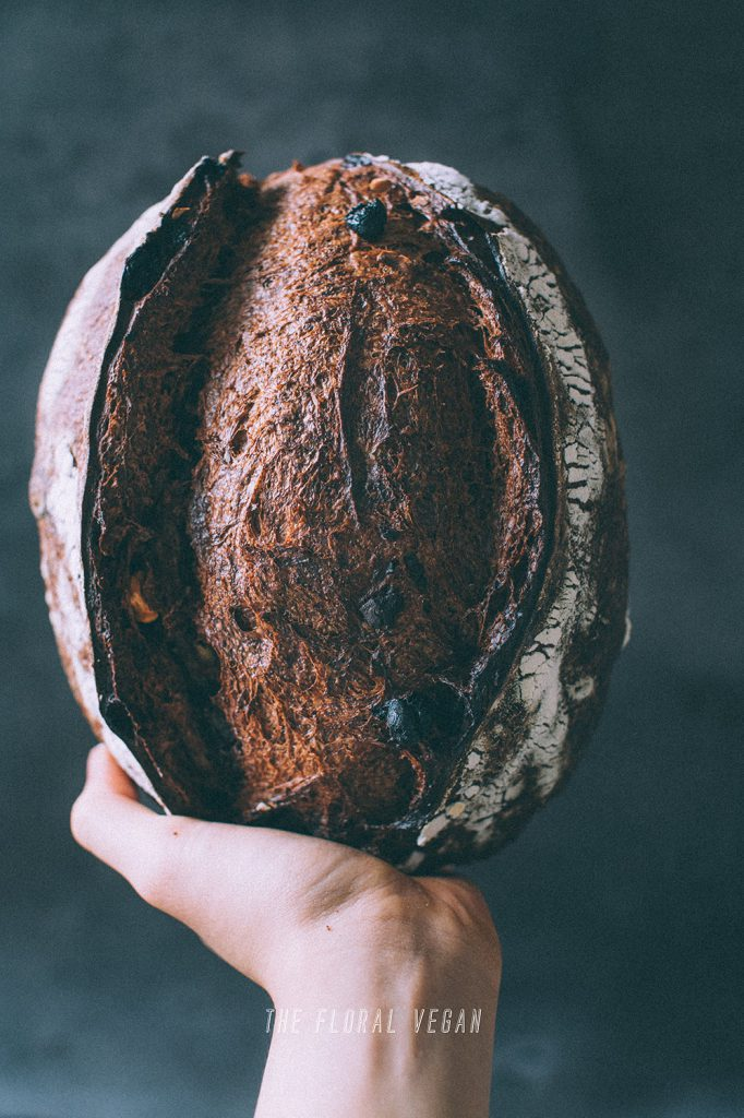 double chocolate sourdough