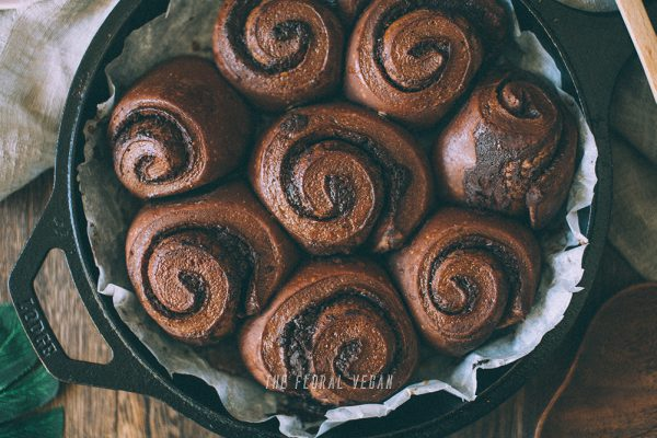 Sourdough Double Chocolate Babka Rolls