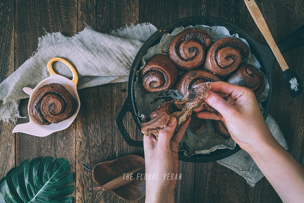Sourdough Double Chocolate Babka Rolls