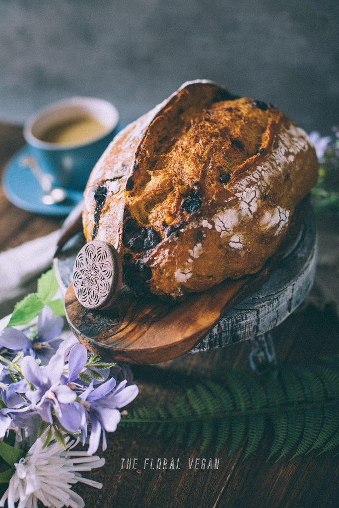 cinnamon turmeric sourdough