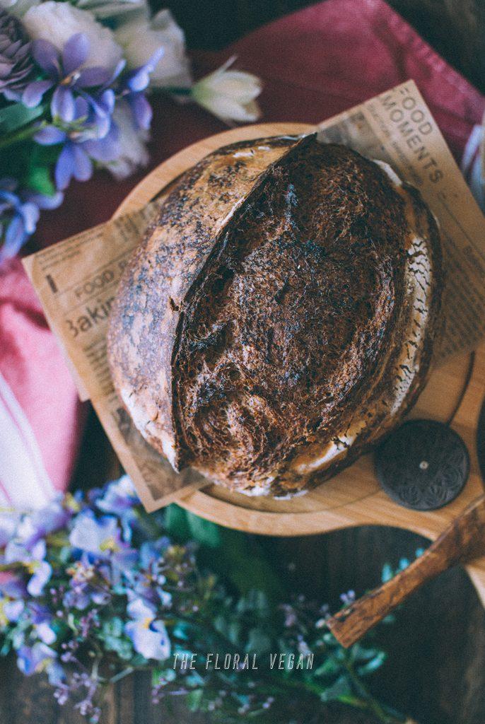 100% whole grain sourdough crust