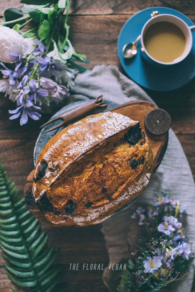 cinnamon turmeric sourdough