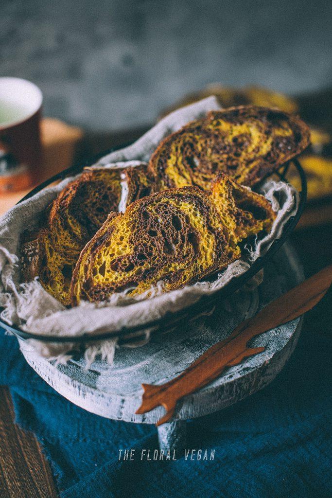 orange chocolate sourdough