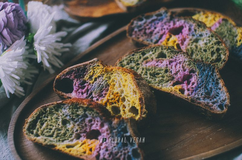 Rainbow Sourdough with All-Natural Coloring 🌈