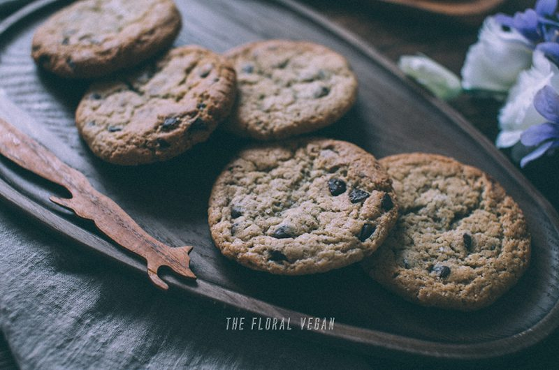 Sourdough Chocolate Chip Cookies (Vegan)