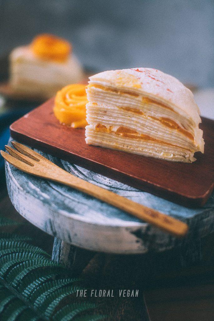 crepe cake layers